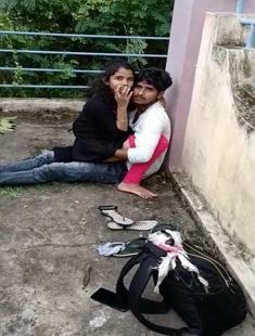 Desi Young Lover Caught Outdoor Fucking