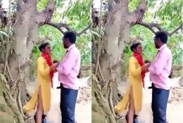 Village Lover Fucking Outdoor Trying New Style