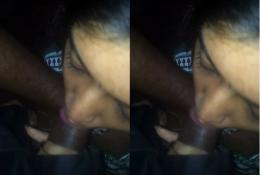 Desi bhabhi giving blowjob to lover