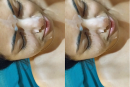 Bhabi Taking Cum On Face