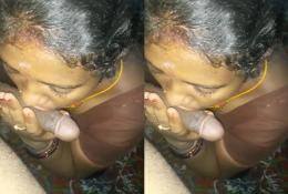 Village Mature Bhabhi Sucking Husband Dick