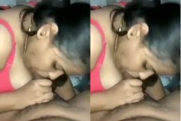 Horny Desi Wife Blowjob and Fucked