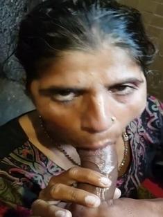 Randi Bhabhi Blowjob 1