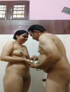Desi Jija Sali In Bathroom Shower Blowjob And Enjoy