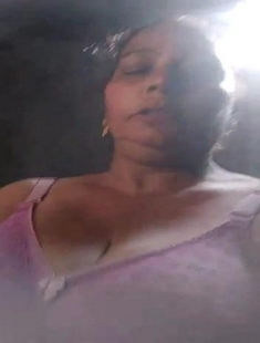 Horny Desi Bhabhi Showing Her Big Boobs and Pussy