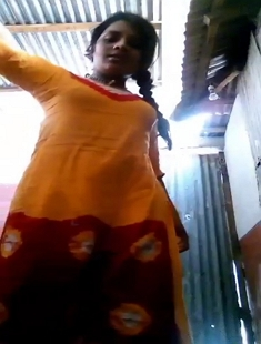 Bangladeshi Cute Village Girl Showing Her Hairy Pussy For Lover