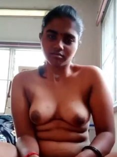Cute Shy Tamil Girl Showing On Video Call 2