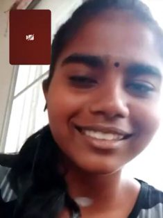 Cute Shy Tamil Girl Showing On Video Call 3