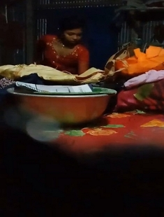 Desi Girl Secretly Capture While Changing Dress