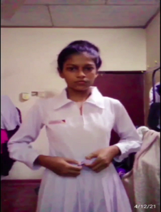 Sri Lankan Slim Cutie Leaked Newest Video (CUTIE ON FIRE)
