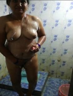 Desi Married Telugu Aunty Nude Captured By Husband