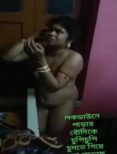 Bengali Boudi Caught Fucking With Devar
